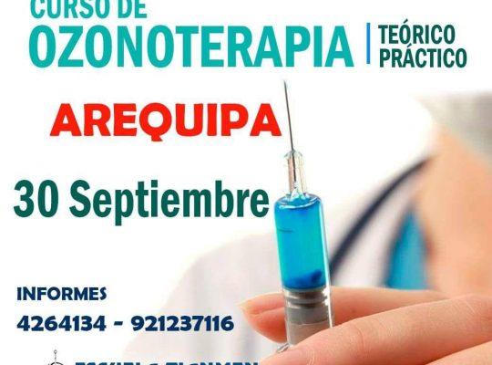 CURSO DE OZONOTERAPIA  #AREQUIPA