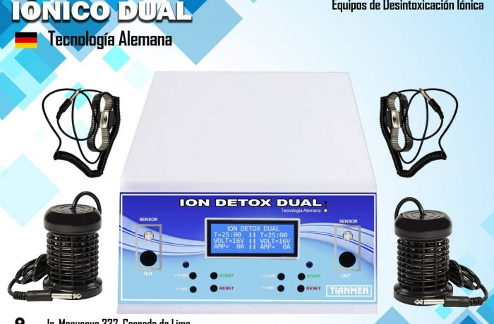 DESINTOXICACION IONICA (DETOX DUAL)