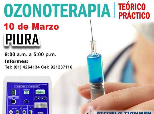 CURSO DE OZONOTERAPIA  #PIURA