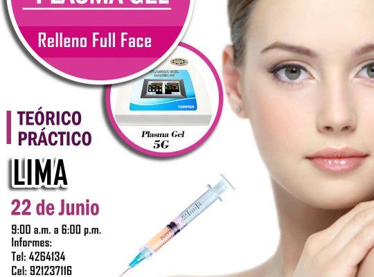 CURSO DE PLASMA GEL  –  Lima