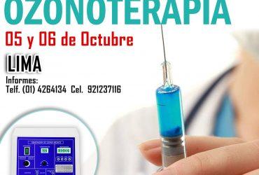 CURSO DE OZONOTERAPIA
