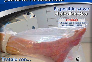 Pie Diabético / Ozono