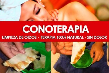 CONOTERAPIA – Limpieza de Oído