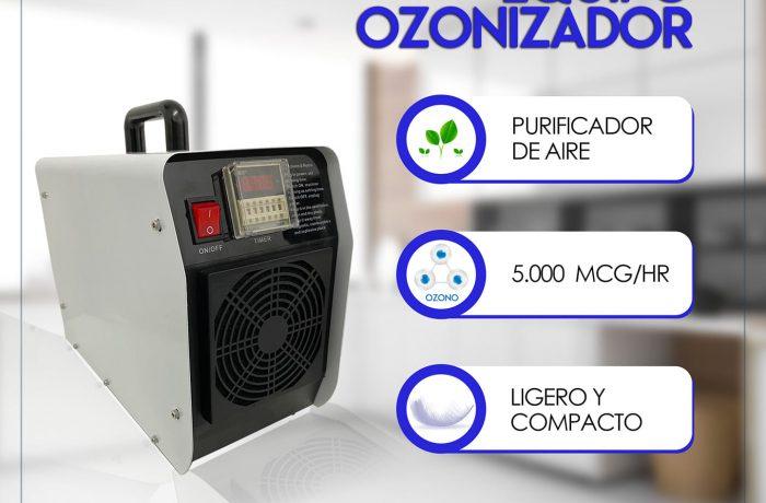 EQUIPO PURIFICADOR DE AIRECon Ozono