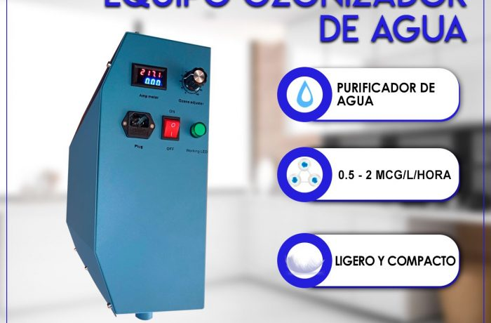 EQUIPO PURIFICADOR DE AGUA (Con Ozono)