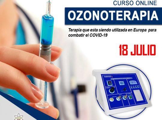 CURSO ONLINE DE OZONOTERAPIA 💉💉